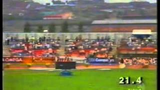 ATLETICA COPPA EUROPA 1989 GATESHEAD 4X100 GREAT BRITAIN