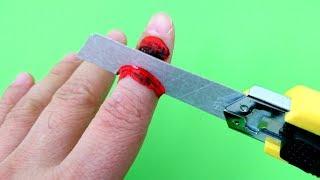 Parmak Kesme Şakası Nasıl Yapılır  2 AWESOME Tricks! FINGER CUT OFF!