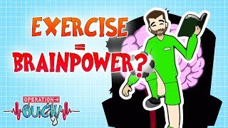 Exercise = Brainpower? | Operation Ouch | Science for Kids