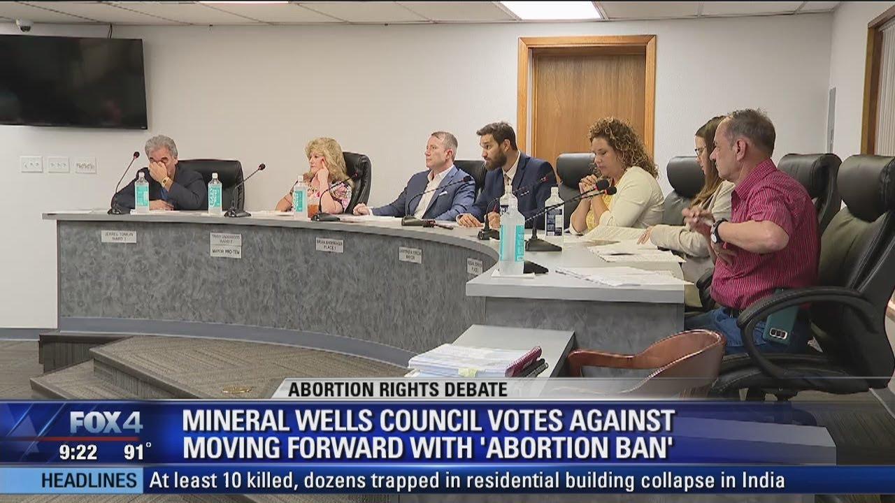 City of Mineral Wells, Texas debates becoming a