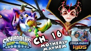 Let's Play Skylanders Swap Force: Motherly Mayhem - Kaos Mom Boss Battle w/ Bubba Greebs (Ch. 16)