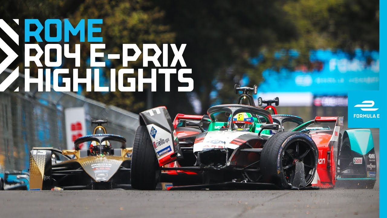 Race Highlights | 2021 Rome E-Prix | Round 4