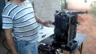 Montagem Motor Perkins P4000 - Parte 02