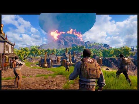 Download Crafting Massive Drillships to Survive Volcanic Eruptions! (Volcanoids Gameplay Part 1)