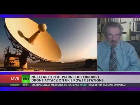 Nuclear expert warns of terrorist drone attack on UK's power stations