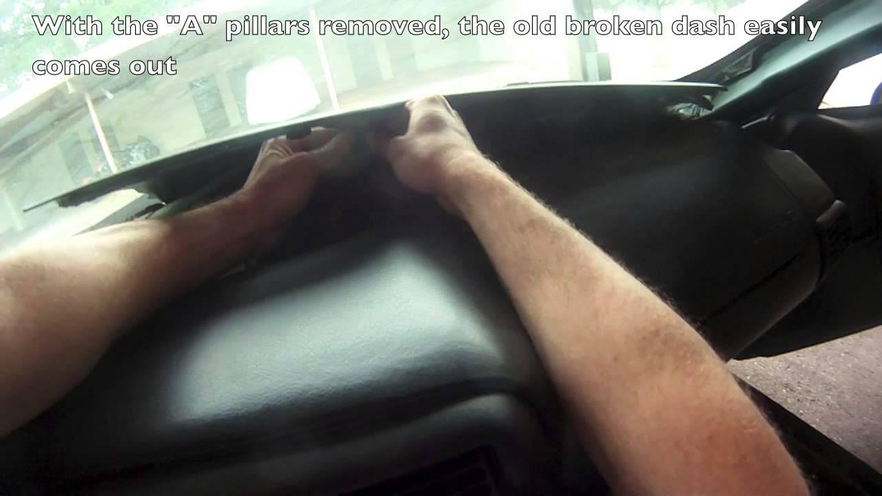 Camaro Dash Repair Youtube
