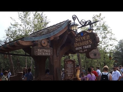 Walt Disney World - Seven Dwarfs Mine Train Full Ride Through POV
