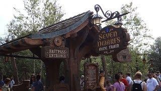 Walt Disney World - Seven Dwarfs Mine Train Full Ride Through POV