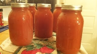 Canning Homemade Tomato Soup - Canning What You grow