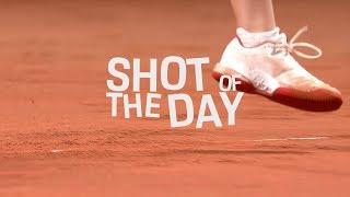 Shot of the day 27 April - Petra Kvitova (CZE) - Porsche Tennis Grand Prix 2019