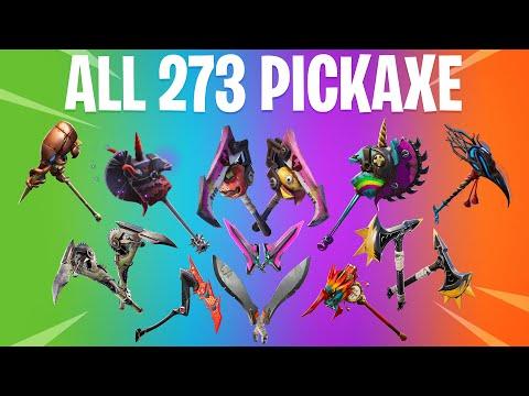 FORTNITE ALL SEASON PICKAXE (All Season 1 To 10 Pickaxe)