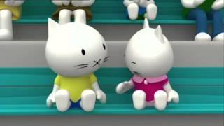 Обучающие мультфильмы - Котёнок Мусти - сборник 3