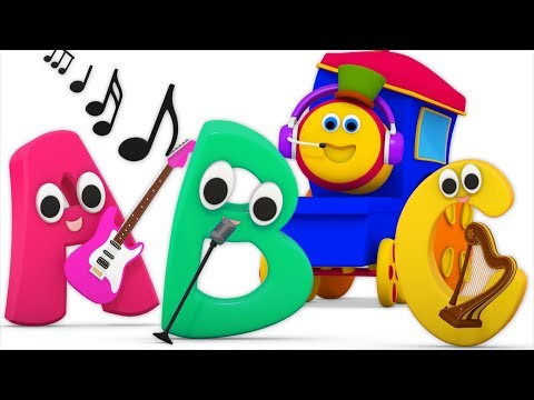 ABC Sound Song  Learning Street With Bob The Train  Sight Words  Cartoons For Babies  Kids Tv