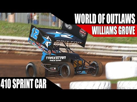 iRacing - World Of Outlaws Sprint Car Series @ Williams Grove Speedway W4 R2