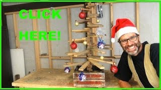 How To Make A Christmas Tree. Awesome Scrap Pallet Wood Project!