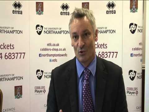 Cobblers reveal their new University of Northampton sponsored kit