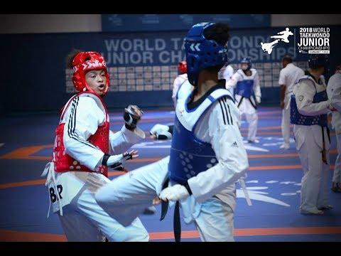 [ FINAL Thailand vs Great Britain Female (-46kg)] |2018 WORLD JUNIOR TAEKWONDO CHAMPIONSHIPS