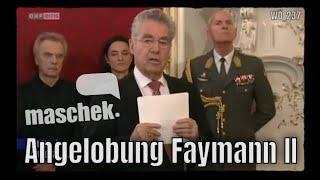 maschek - Angelobung Faymann II