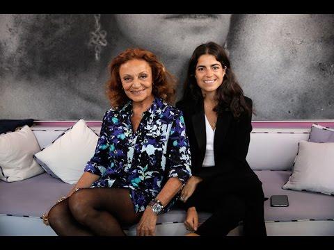 Diane Von Furstenberg & Leadra Medine: The Chatroom