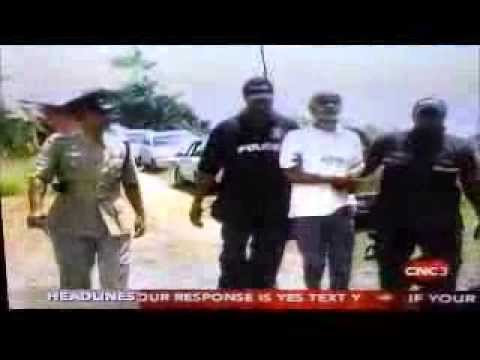 Dr  Kublalsingh is arrested for defending people's homes - Mon Desir - 25Sep2013