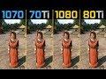 Kingdom Come Deliverance GTX 1070 vs. GTX 1070 Ti vs. GTX 1080 vs. GTX 1080 Ti