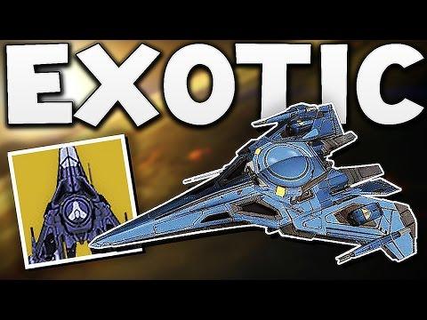 "Destiny - EXOTIC SHIP ""SWIFT HAND OF GOD"" ?"