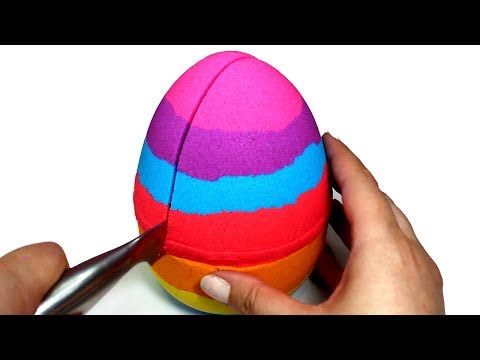 Thumbnail: DIY How to Make Kinetic Sand Giant Egg Learn Colors Kinetic Sand Rainbow Video Compilation for Kids