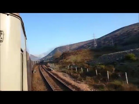 Caledonian Sleeper-London Euston To Inverness May 2016