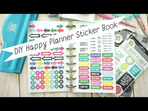 How to: DIY Happy Planner Sticker Book (MAMBI)