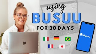 I Tried Busuu for 30 Days 🇮🇹   | Language Learning App Review screenshot 1