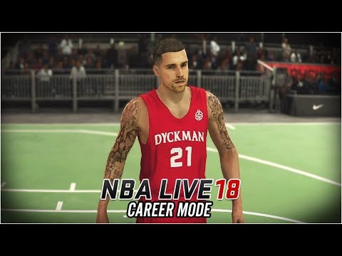 NBA LIVE 18 Career Mode - Ep 4 - TATTED UP!! NEW SKILLS!! (NBA Live 18 The One #4)