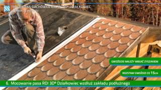 Rolowana Dachówka Icopal 3D® Działkowiec - Instrukcja Montażu