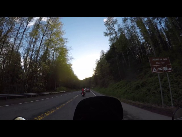 2016 Kawasaki KLR 650 Washington State Motorcycle Adventure Ride Part 7 - 4K