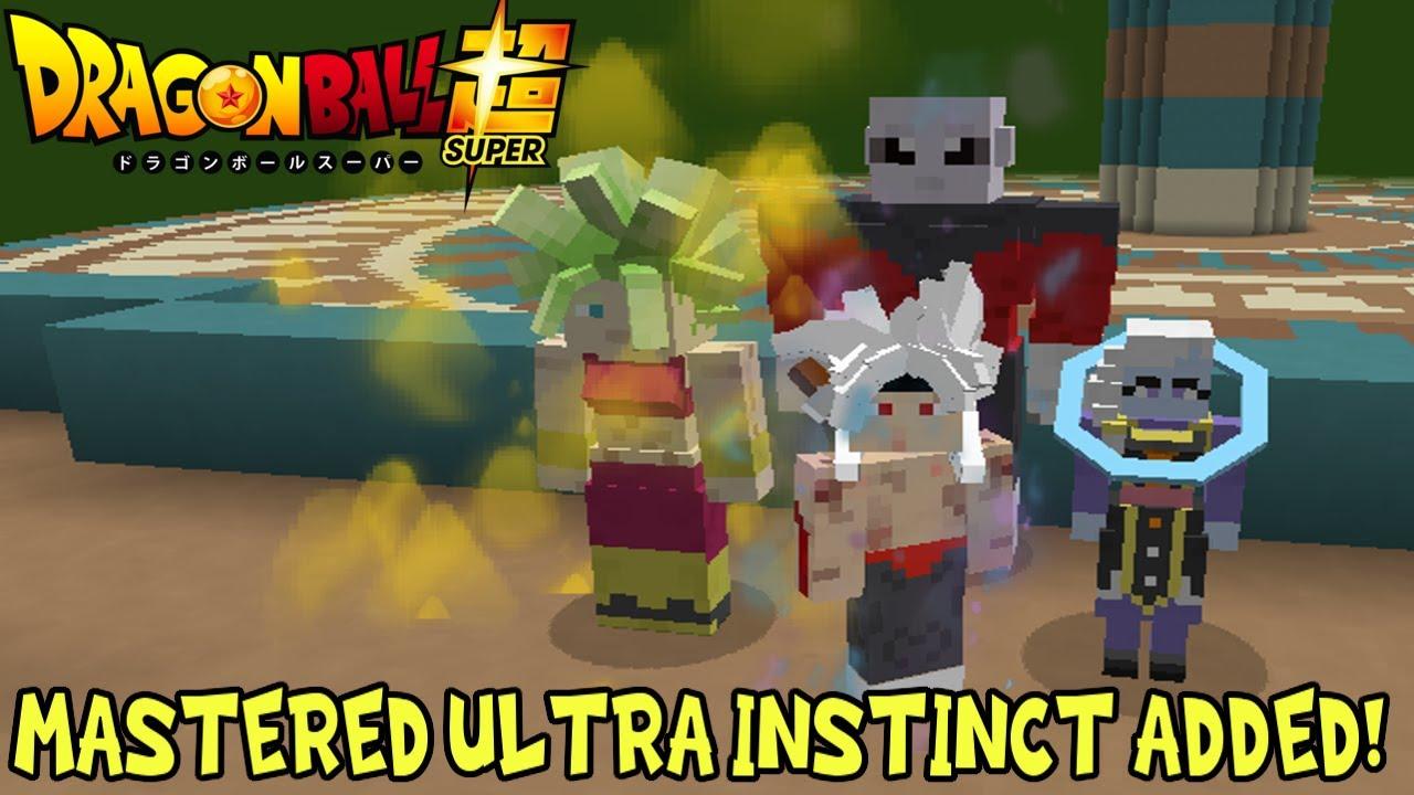 Oleh ickyblog23 september 01, 2021 posting komentar. Mastered Ultra Instinct Added Null Realm Jiren Much More Minecraft Dragon Block C Mod Review Youtube