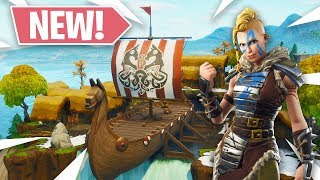 NEW VIKING & SECRET RIFT LOCATIONS! (Fortnite: Battle Royale)