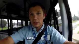 Вся Правда о Работе в США: За Рулем Автобуса. Видеодневник День 1