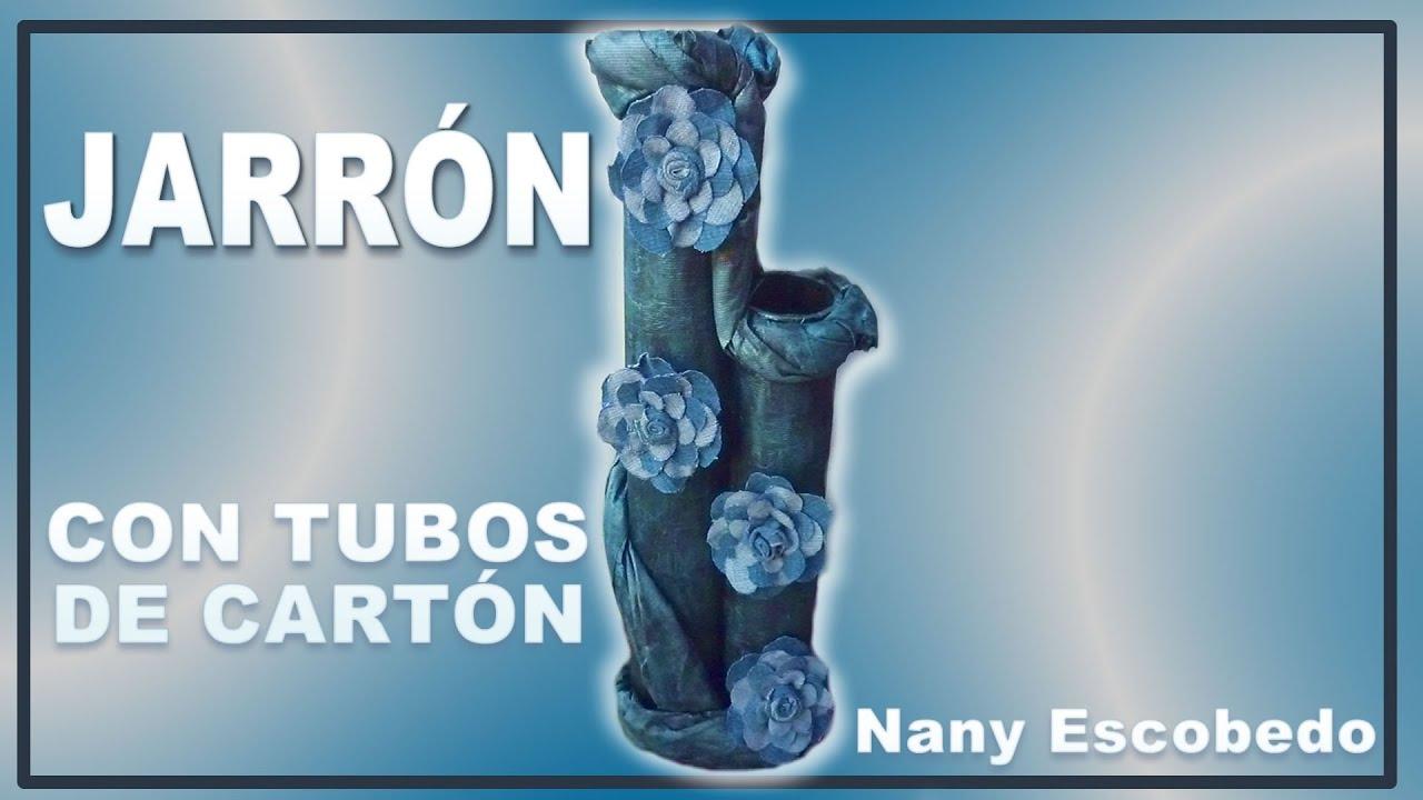 Jarr 211 N Con Tubos De Cart 211 N Vase With Cardboard Tubes Youtube