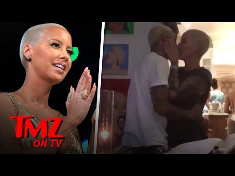 Amber Rose's New BF Throws Her a Surprise Birthday Party | TMZ TV