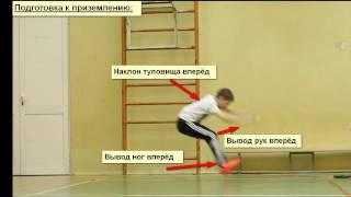 """Учебный видеоролик: """"Прыжок в длину с места."""""""