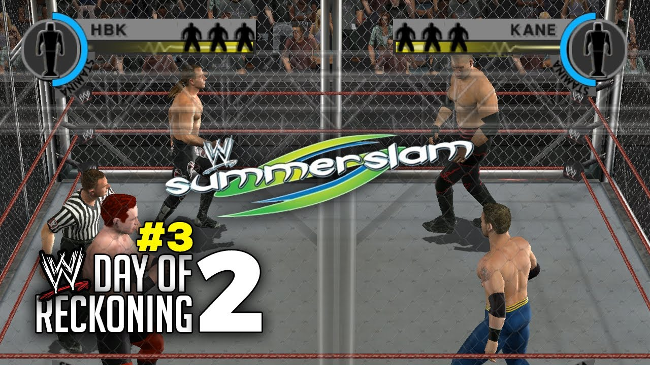 Download WWE Day of Reckoning 2 Story Mode Ep 3   SUMMERSLAM STEEL CAGE MATCH