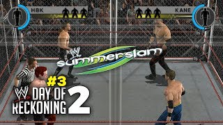 WWE Day of Reckoning 2 Story Mode Ep 3 | SUMMERSLAM STEEL CAGE MATCH