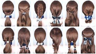 20 Easy Hairstyles for Medium & Long Hair