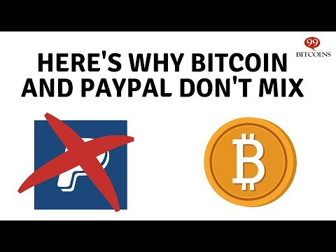 Why Can't I Buy Bitcoin With A Credit Card Or Paypal