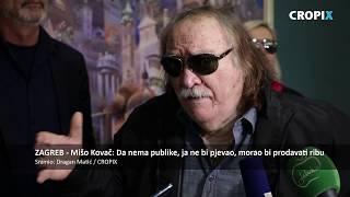 Mišo Kovač: 'Da nema publike, ja ne bi pjevao, morao bi prodavati ribu'