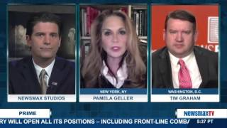 Newsmax Prime | Tim Graham and Pamela Geller discuss the media's reaction to the shooting