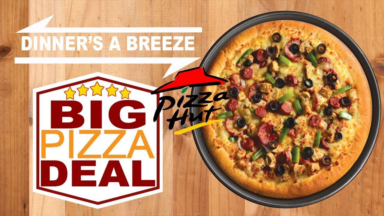 Pizza Restaurants By Dinner39s A Breeze Big Pizza Deal