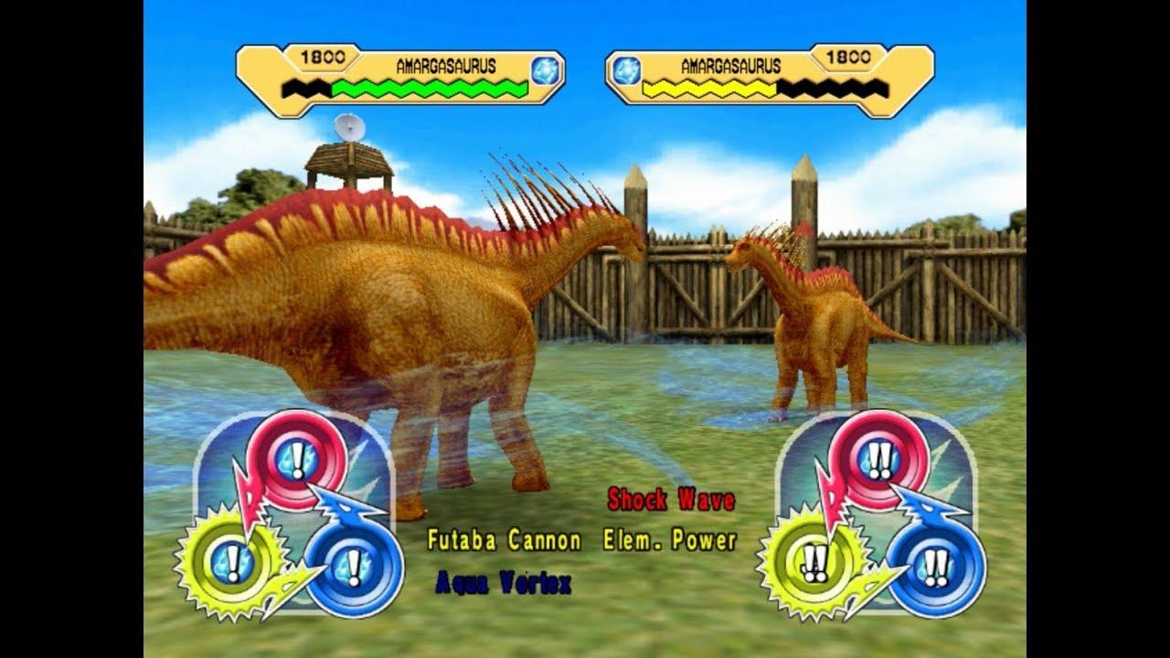 Dinosaur King Arcade Game 恐竜キング - Amargasaurus X ...