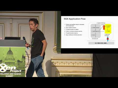 Introduction to SGX (Software Guard Extensions) and SGX Virtualization - Jun Nakajima, Intel