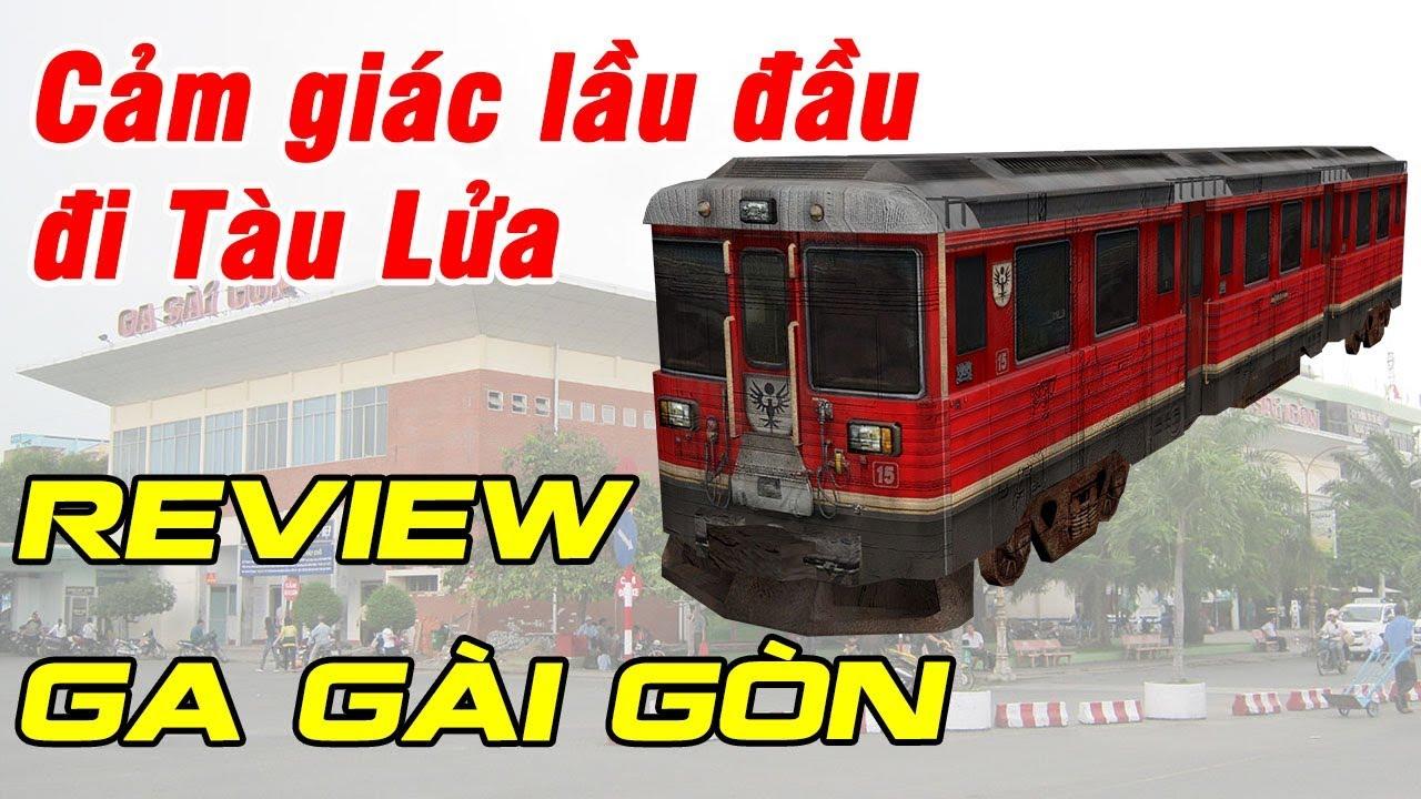Đừng xem clip này nếu chưa có ý định đi tàu lửa Ga Sài Gòn  - Du Lịch Ăn Uống Nha Trang #02