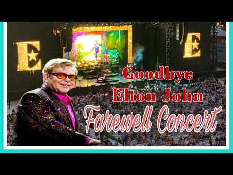 ELTON JOHN Farewell Concert  At Perth Western Australia